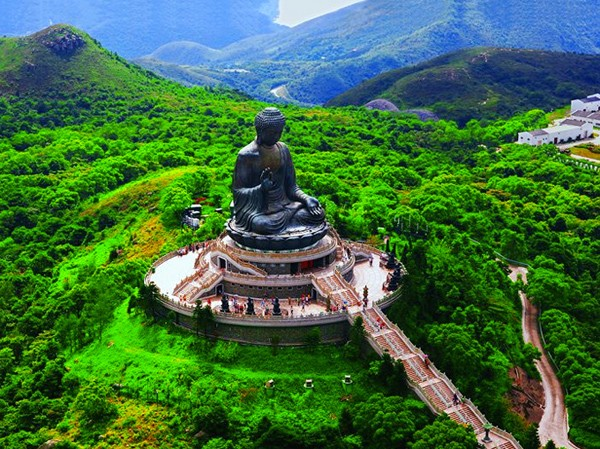 Tiantan Buddha in Hong Kong