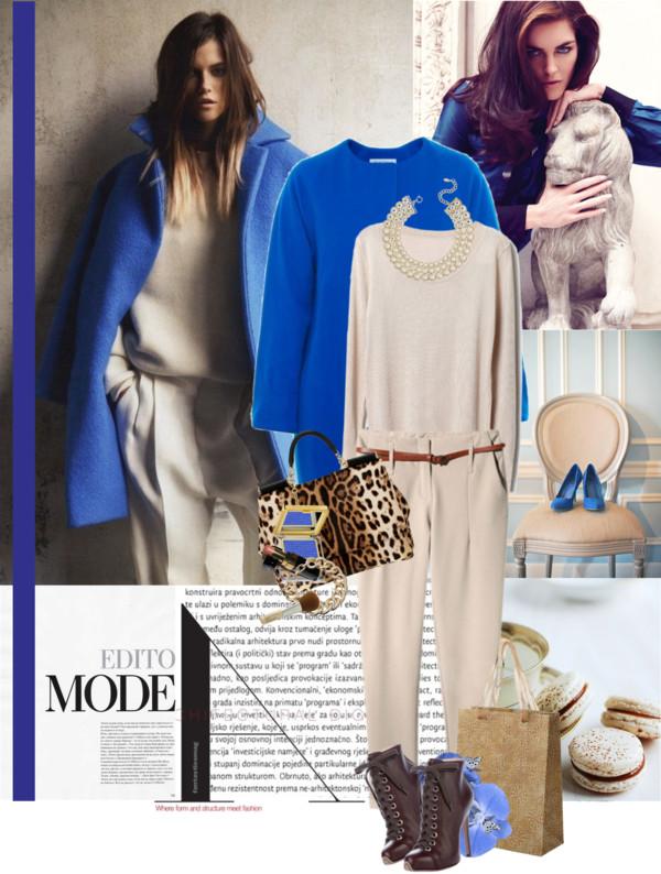 LuV Personal Shopper Asesor de Imagen Mu00e9xico Outfits Azul elu00e9ctrico o Azul rey*Tendecia 2012