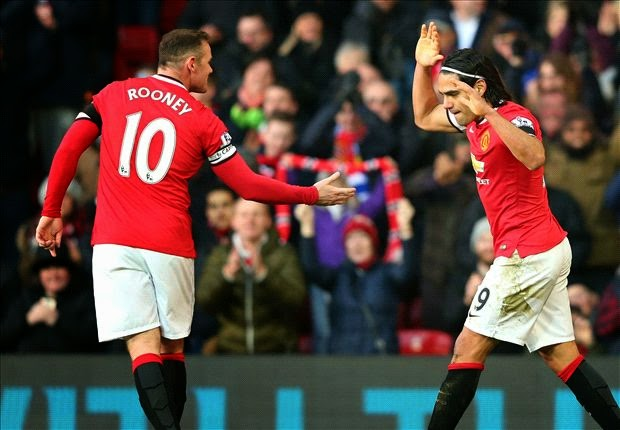 Liga Inggris : Manchester United 3-1 Leicester City