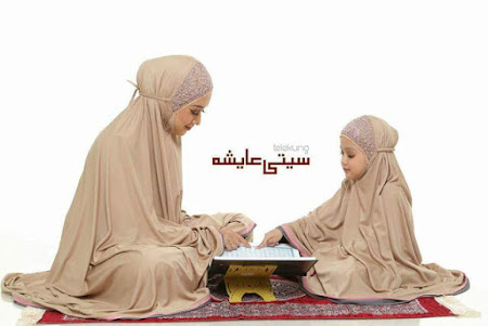 TElekung Siti Aisyah Volume 2. Kesempurnaan solat bermula dari suci dan bersih termasuk pakaian