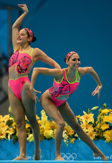 Olympic Stylesynchronized Swimming Costumes London 2012 Summer