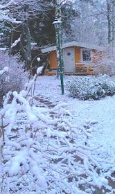 Härligt med snö!