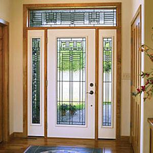 Puertas interiores de vidrio ideas para decorar dise ar for Puertas de entrada de madera y vidrio