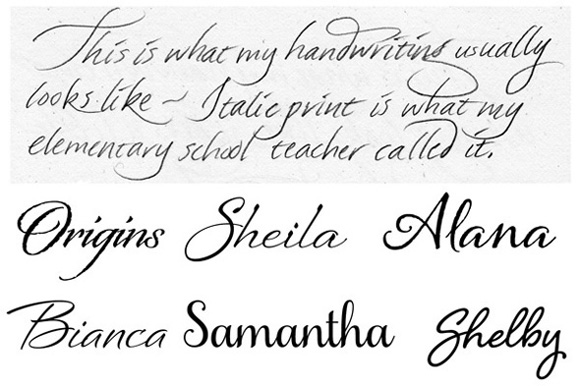 Art Humanity Handwriting Styles Art