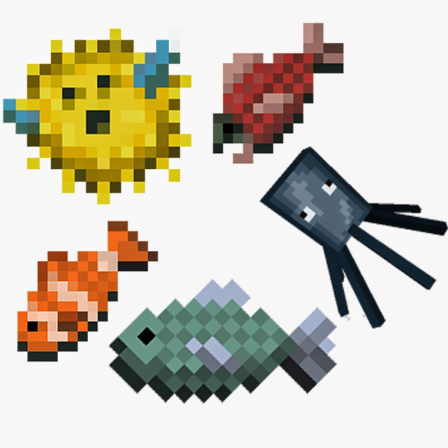 Minecraft fish gallery for How to fish in minecraft pe