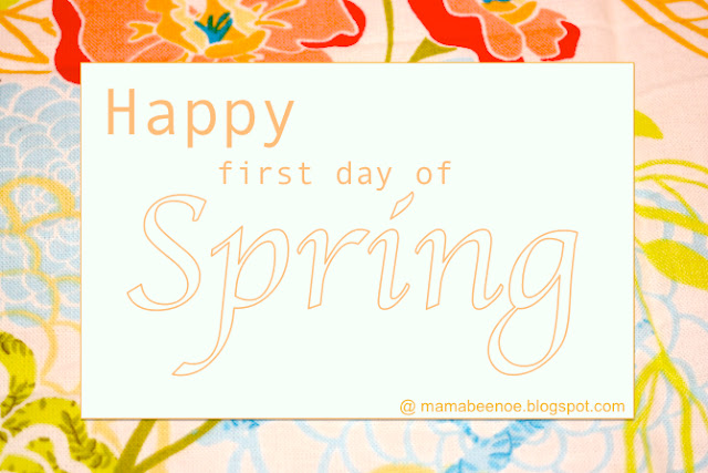 Happy First Day of Spring 2013