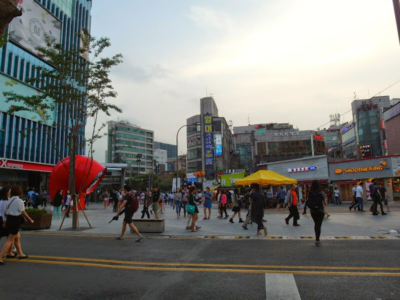 seoul korea trip summer studies ewha womans university singapore lunarrive travel sinchon