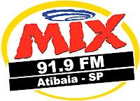 Rádio Mix FM da Cidade de Atibaia ao vivo