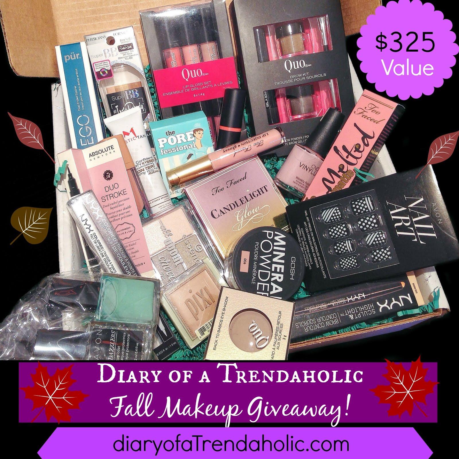 $325 Makeup Giveaway!