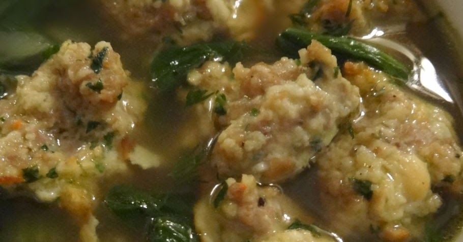 Scrumpdillyicious: Light Italian Wedding Soup
