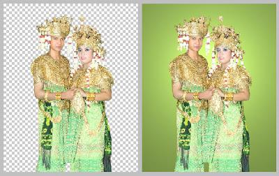 File PNG Busana Pernikahan Palembang