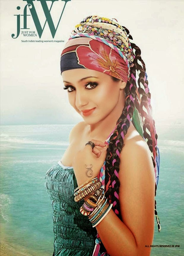 Trisha Krishnan - Latest Hot Photoshoot for JFW Magazine