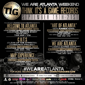 We Are Atlanta weekend kick-off Thursday, September 18
