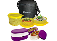 Buy Oliveware Little Lunch Bag Box & Oliveware Creative Lunch Box at Rs 239 Via shopclues: Buytoearn