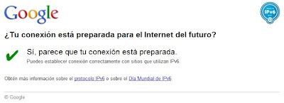 Test de IPv6