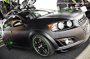 Chevy Sonic Ricky Carmichael TURBO Edition. Posted by Sonic Tuners On Monday .