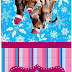Dog and Cat in Christmas: Free Printable Candy Bar Labels.