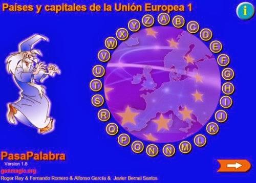 Capitales y países de la U.E juego.