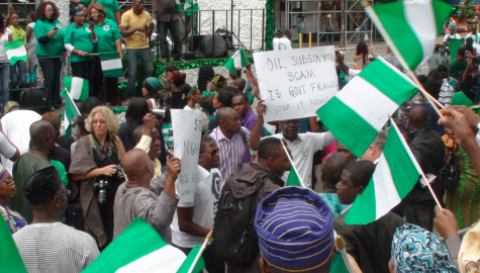 Protesters Force Labaran Maku To Abandon New York Independence Day Parade