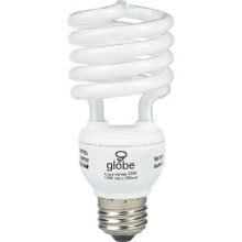 CFL bulb spiral light