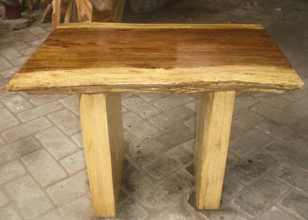 Indogemstone wood slab coffee table for Wood slab coffee table