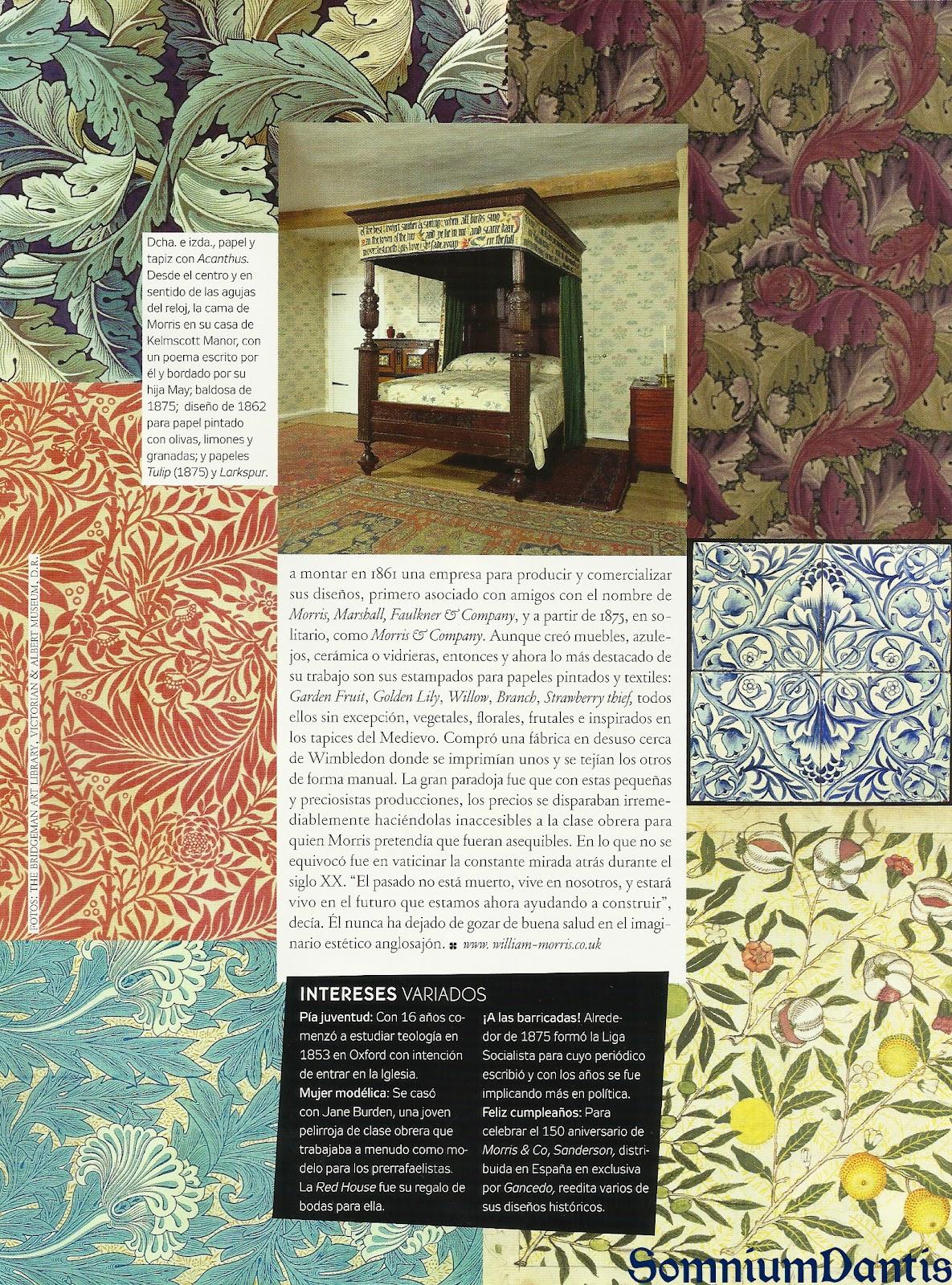 La discreta elegancia del siglo XIX inglés: Los Prerafaelitas - Página 2 Williammorris2