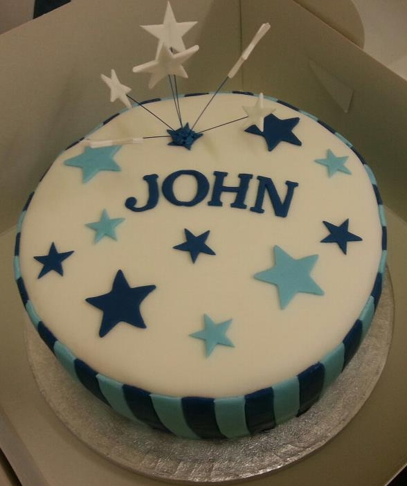 Birthday Cake For John : Gloriauscakes