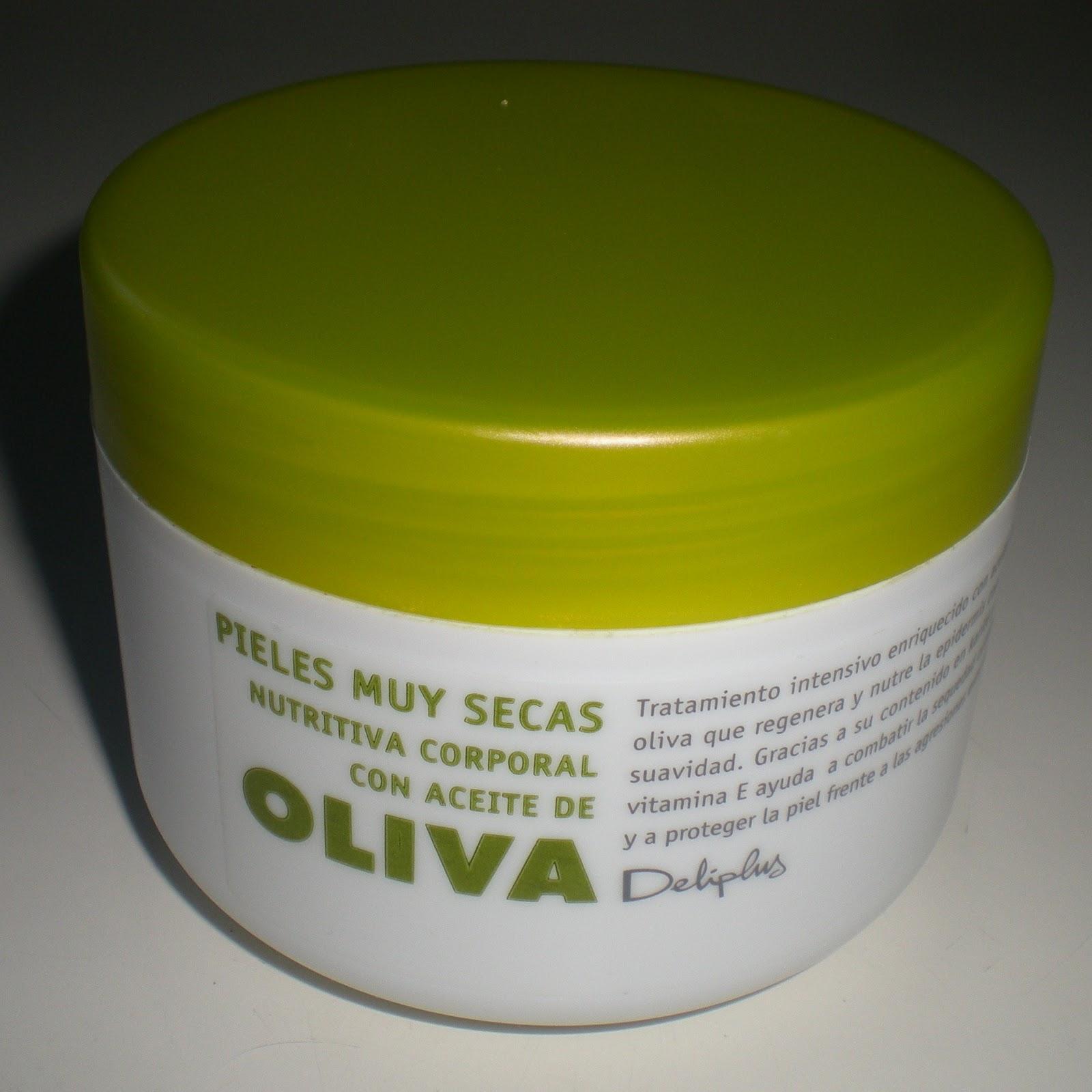 El Blog de Canca: Deliplus: CREMA ACEITE DE OLIVA