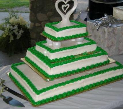 Cake Decorating Classes Near Pomona Ca : Big Bettie cakes: Sheet Wedding Cake