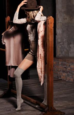 calcetines mujer largos por la rodilla Calzedonia