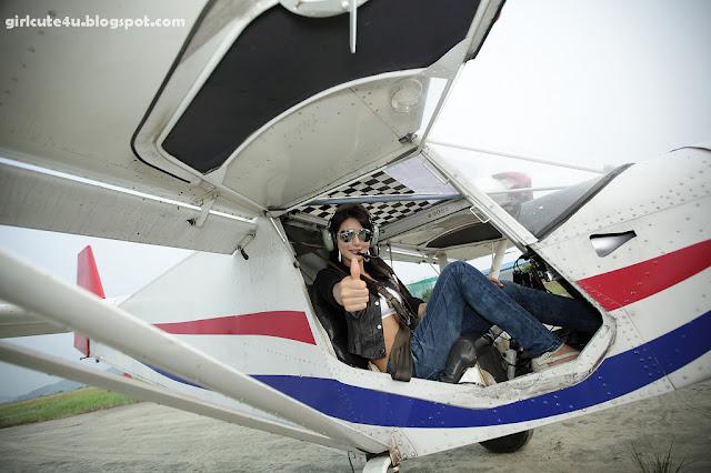 6 Cha Sun Hwa-Sexy Pilot-very cute asian girl-girlcute4u.blogspot.com