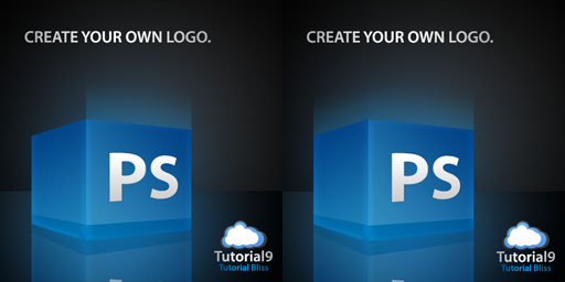 3d photoshop logo design tutorials