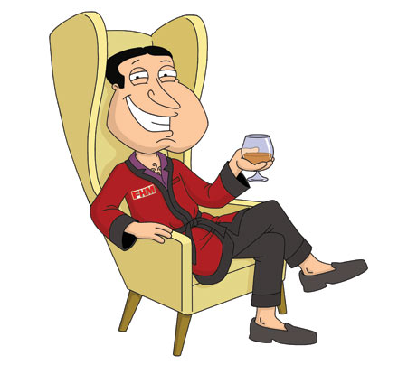 Adventurous Endeavors: November 2011 Glen Quagmire Family Guy