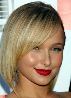 Hayden Panettiere with Chic Bob Hairstyle