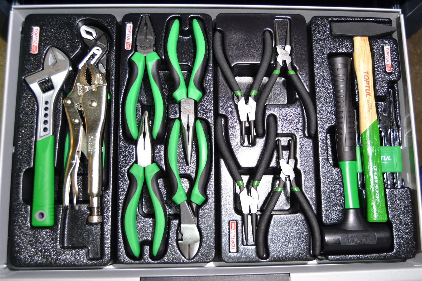 herramientas toptul