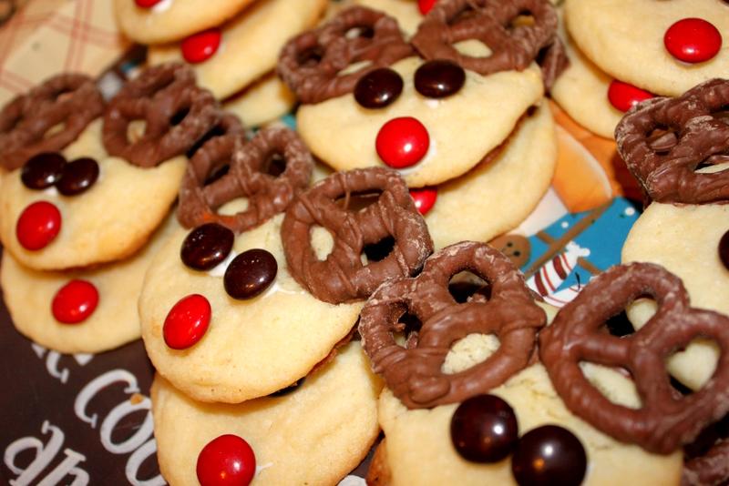 Reindeer Sugar Cookies Juggling With Kids