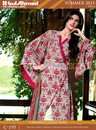 Gul Ahmed A Beautiful Journey Spring Summer 2015 VOL-2