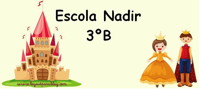 Escola Nadir - 3º B