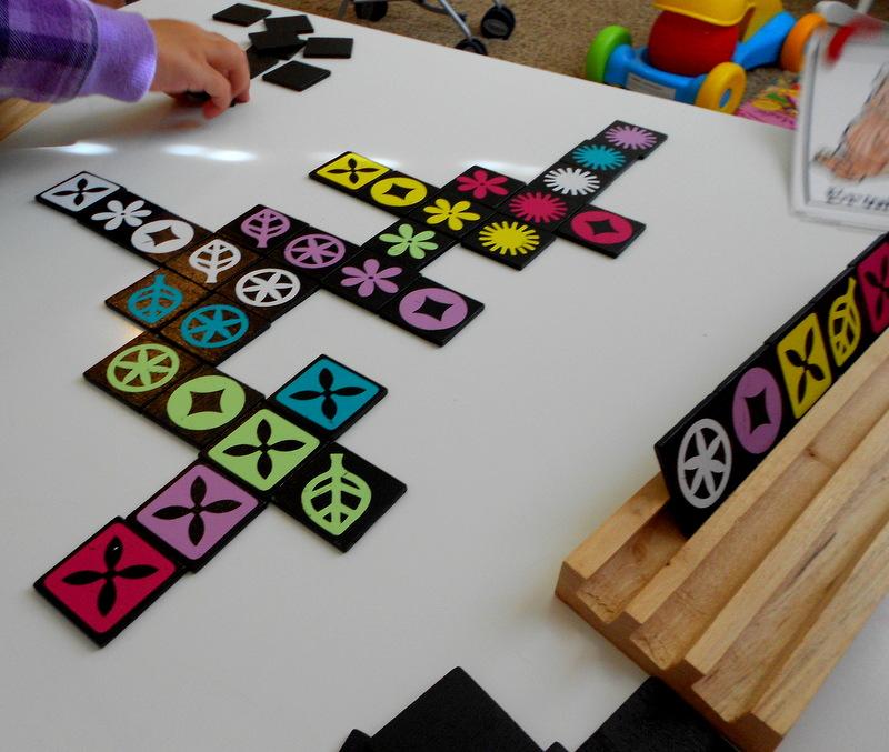 Make It Scrappin Homemade Qwirkle Game