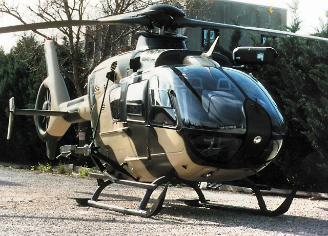EC 635 Light Combat Helicopter