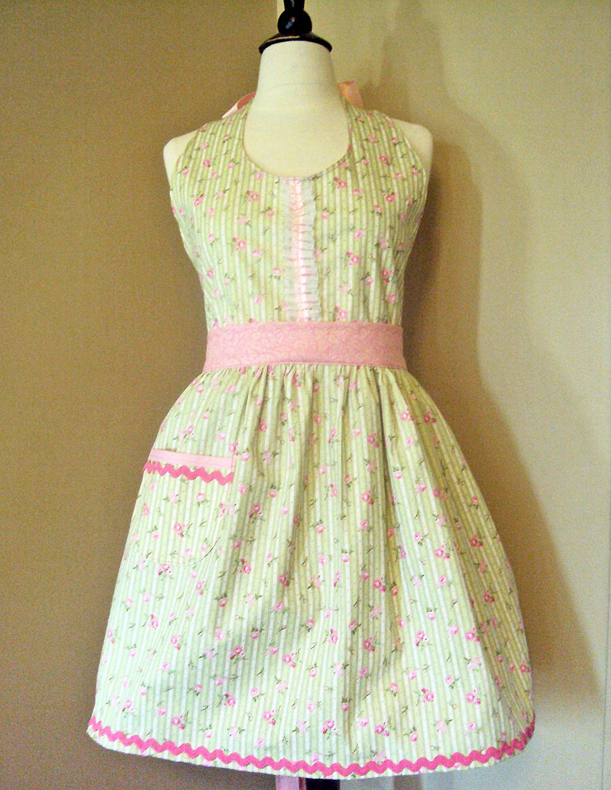 White half apron ebay - Http Www Ebay Com Itm Vintage Style Apron Womens Full Size Retro Apron Shabby Cottage Chic 190649854032 Pt Lh_defaultdomain_0 Hash Item2c639de850