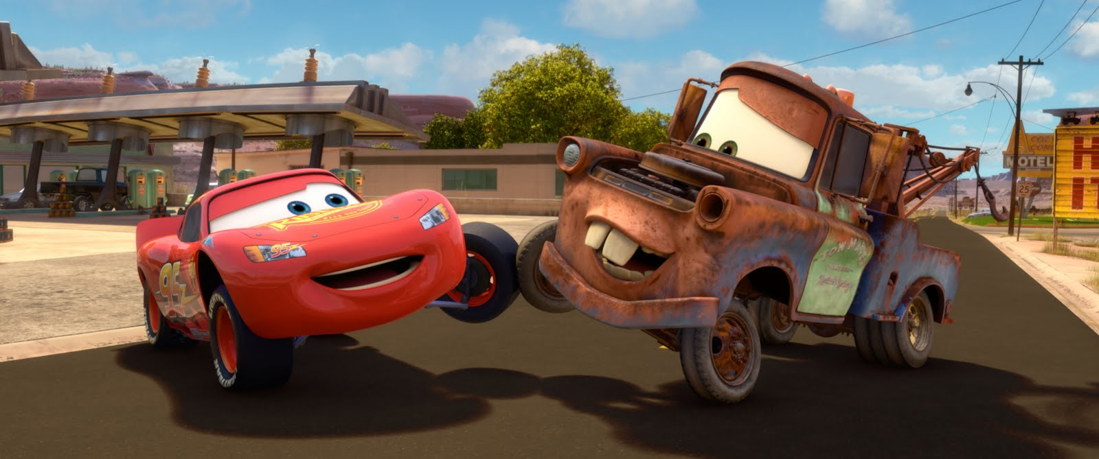Cars 2 Lightning McQueen and Mater