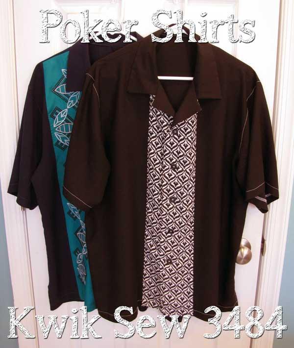 Poker Shirt - Kwik Sew 3484
