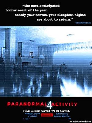 Filme Poster Atividade Paranormal 4 DVDSCR XviD & RMVB Legendado