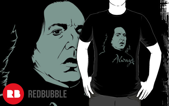 camiseta snape harry potter