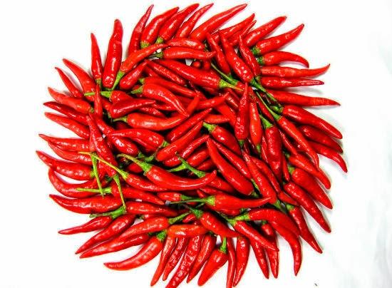 ớt giúp cải thiện lưu thông máu