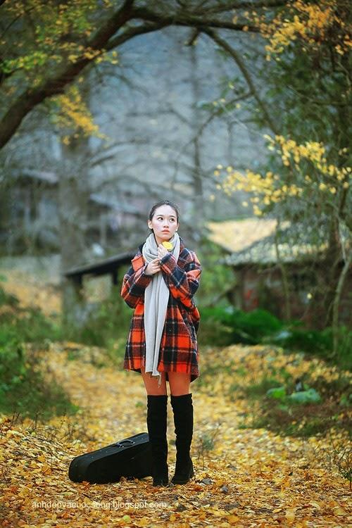 Thiếu nữ dao phố mùa thu 7