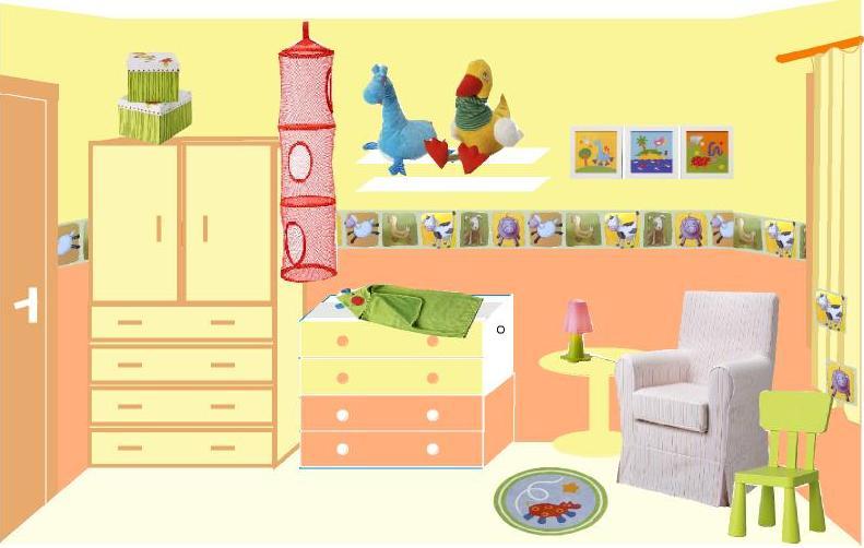 Ideas para preparar la cuna ideas para decorar el - Ideas para decorar el dormitorio ...
