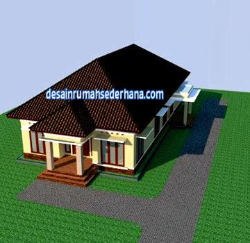 Denah Rumah 2 Lantai Luas Tanah 200