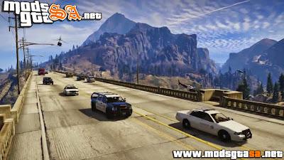 V - Mod Delitos Real da Polícia para GTA V PC